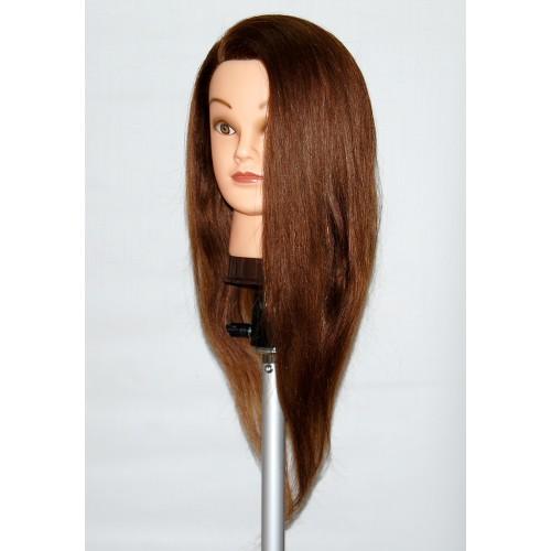 Awe Inspiring Cosmetology Mannequin Head With Human Hair Helen Short Hairstyles Gunalazisus