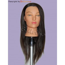 "24"" Cosmetology Mannequin Head with Human Hair - Lindsey"