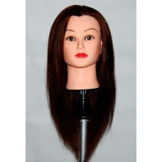 "24"" Cosmetology Mannequin Head with Human Hair - Bella"