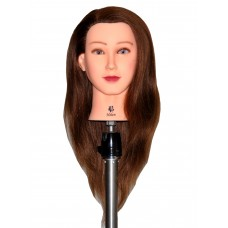 """22"""" Cosmetology Mannequin Head with Human Hair - Helen"""