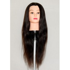 "30"" Cosmetology Mannequin Head with Human Hair - Jane"