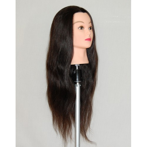 """30"""" Cosmetology Mannequin Head with Human Hair - Jane"""