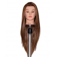 "26"" Cosmetology Mannequin Head with Synthentic Fiber- RITA"