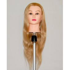 "30"" Cosmetology Mannequin Head with Human Hair - Tiffany"