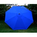 BELLRINO Replacement Royal Blue Umbrella Canopy for 10 ft 8 Ribs