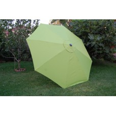 BELLRINO Replacement Sage Green Umbrella Canopy for 9 ft 6 Ribs