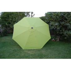 BELLRINO Replacement Sage Green Umbrella Canopy for 10 ft 8 Ribs